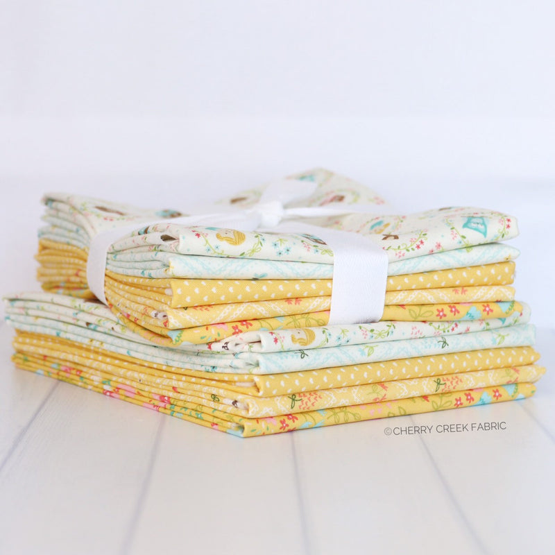 Home Sweet Home Yellow Half Yard Bundle from Home Sweet Home Collection at Cherry Creek Fabric