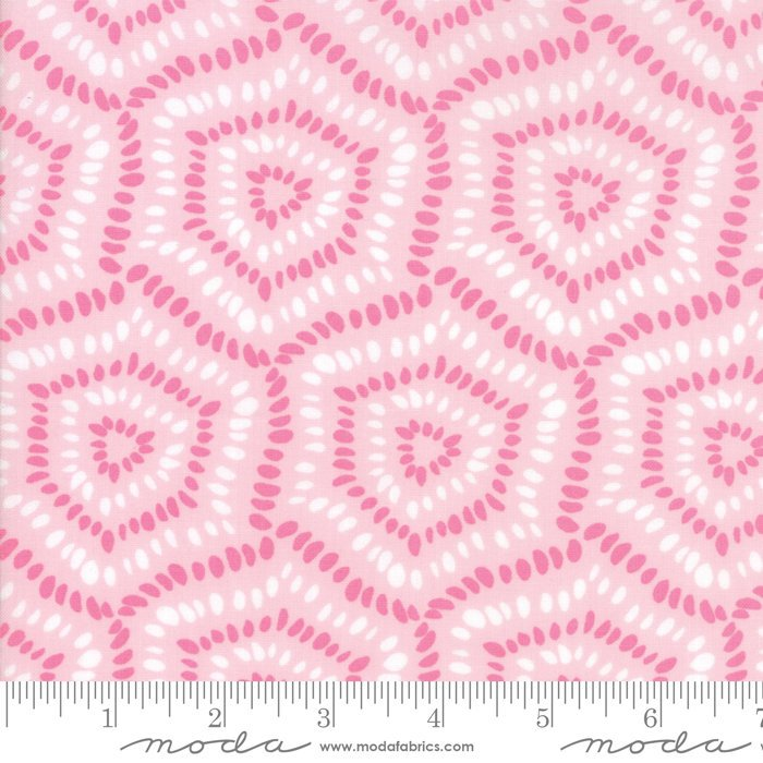Pink Pebbles Fabric from Rosa Collection at Cherry Creek Fabric