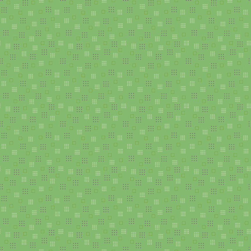 Green Squares Fabric from Autumn Love Collection at Cherry Creek Fabric