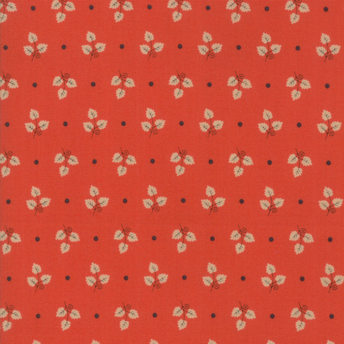 Red Maple Leaves Fabric