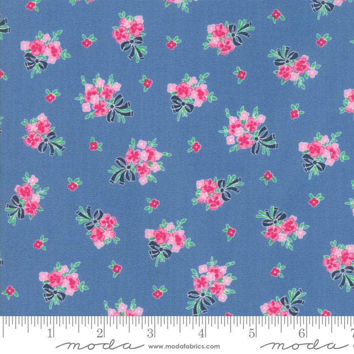 Cornflower Floral Bouquet Fabric from Guest Room Collection at Cherry Creek Fabric
