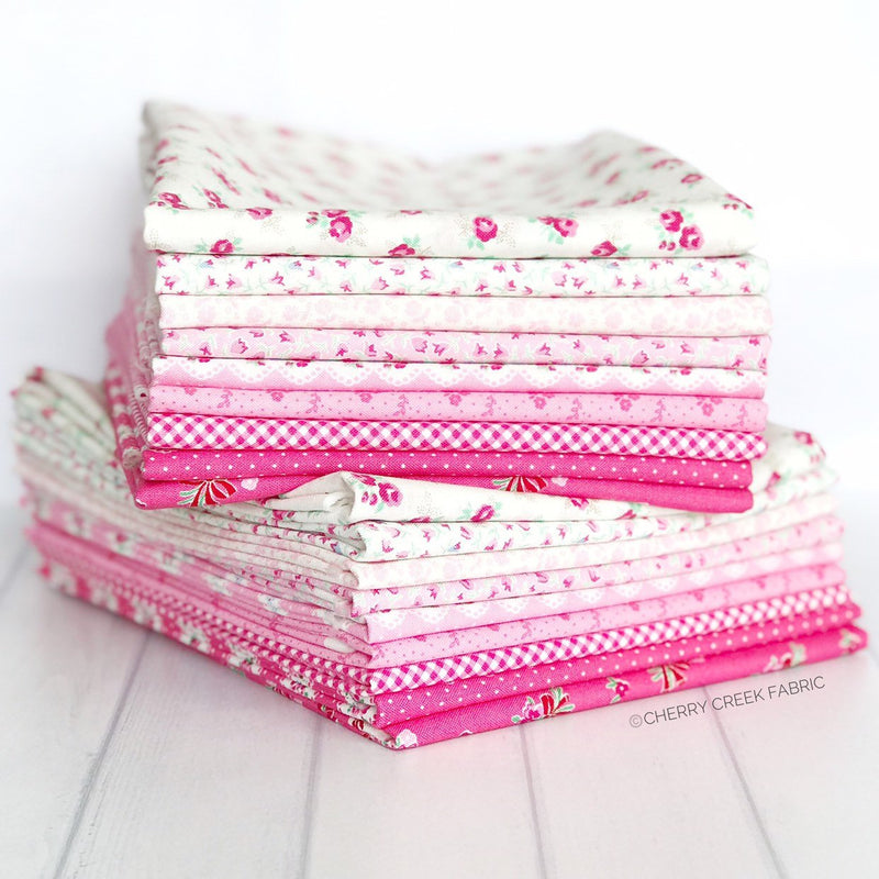 Guest Room Pink Half Yard Bundle from Guest Room Collection at Cherry Creek Fabric