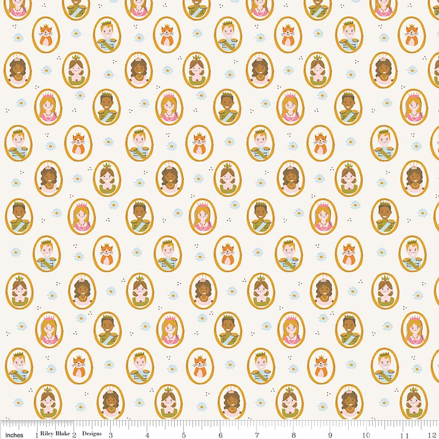 Cream People Fabric
