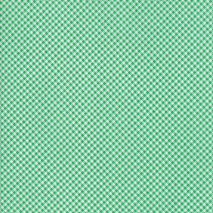 Green Gingham Fabric from Guest Room Collection at Cherry Creek Fabric