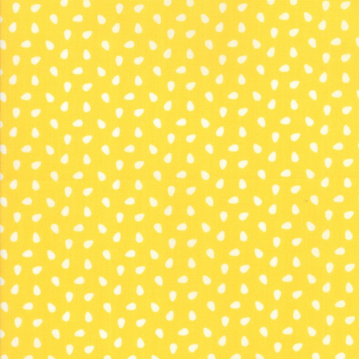 Yellow Seeds Fabric