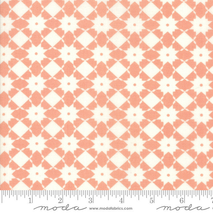Peach Weave Fabric from Garden Variety Collection at Cherry Creek Fabric