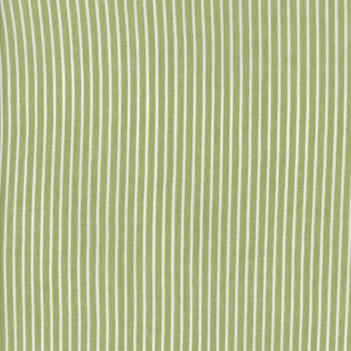 Green Stripe Woven Fabric