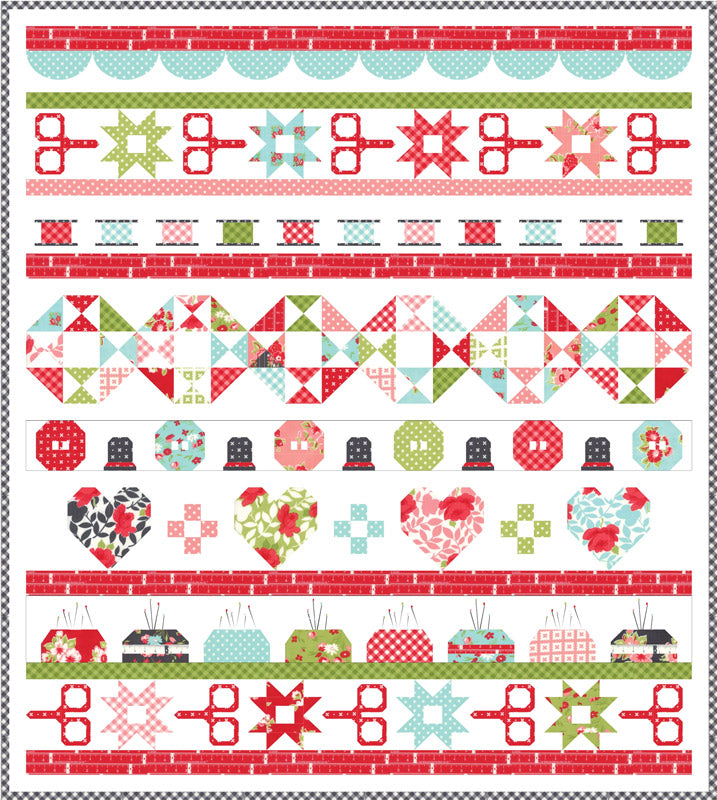 Little Snippets Quilt Kit