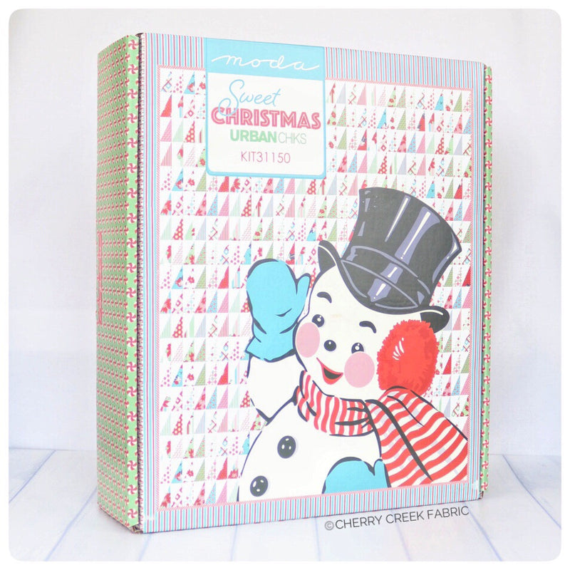 Sweet Christmas Quilt Kit from Sweet Christmas Collection at Cherry Creek Fabric
