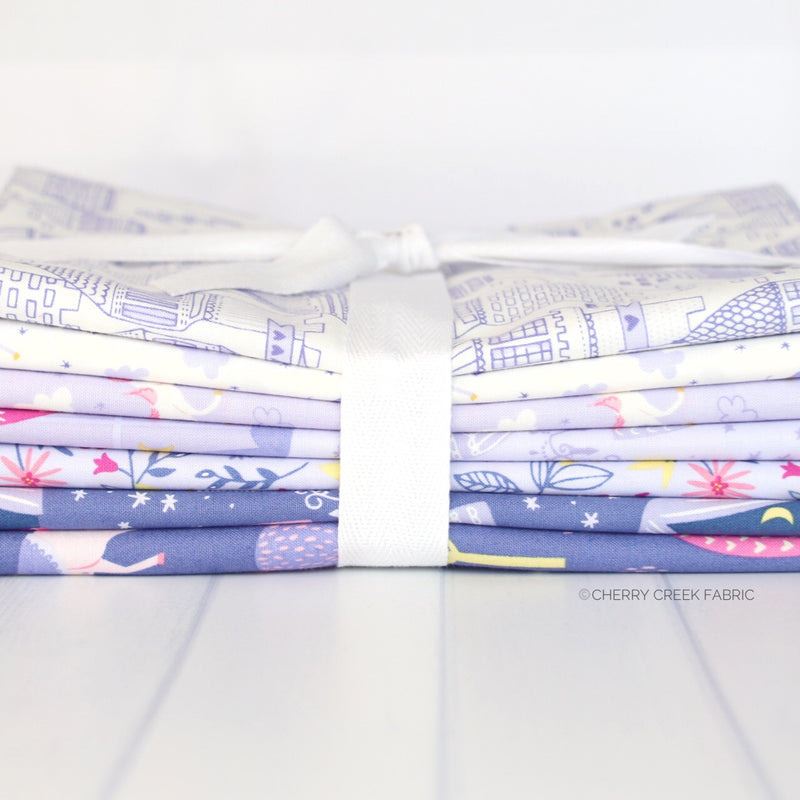 Once Upon A Time Purple One Yard Bundle