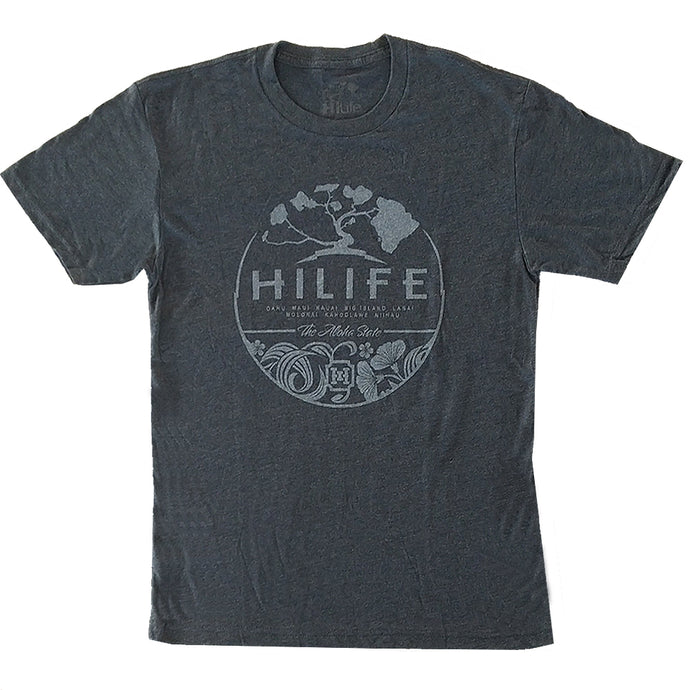 Aloha Circle Tri-Blend Tee (Men's-T)