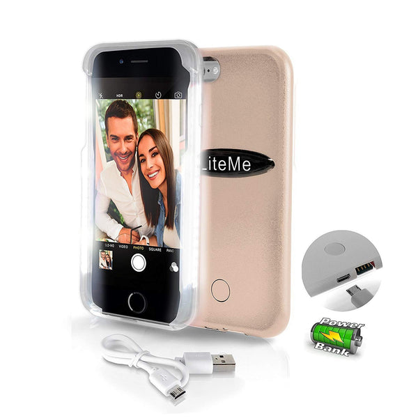 Lite-Me' Selfie Case for iPhone 6Plus & 6S SLIP101GD