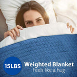 Quilted Weighted Blanket SLHVBLKT15