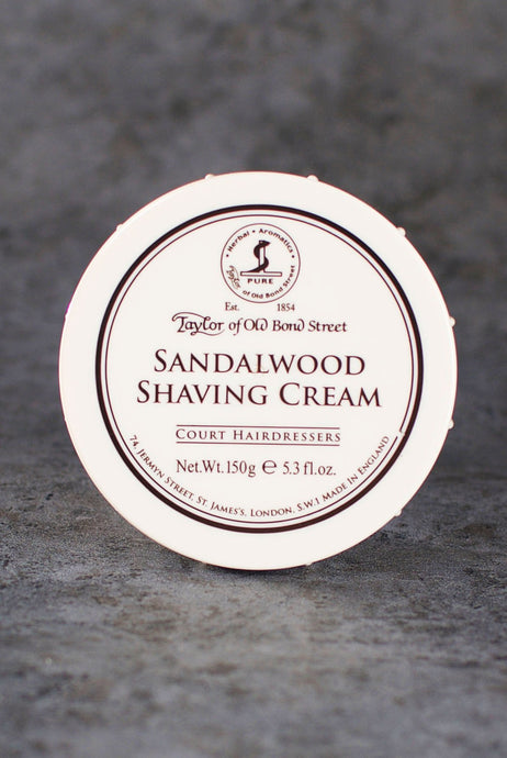Taylor of Old Bond Street - Rakkräm Burk Sandalwood