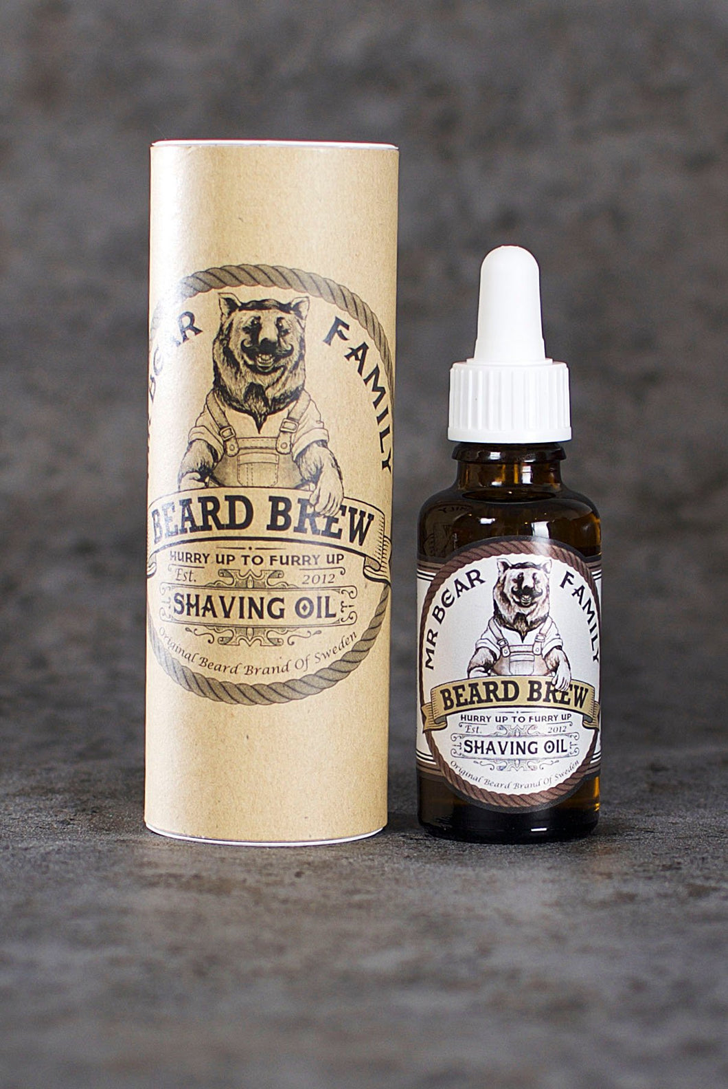 Mr Bear Family - Shaving Oil