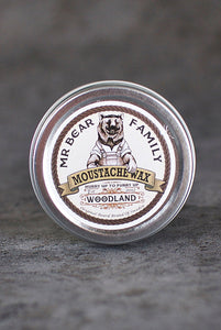 Mr Bear Family - Moustache Wax Woodland
