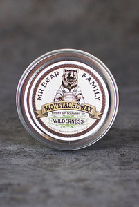 Mr Bear Family - Moustache Wax Wilderness