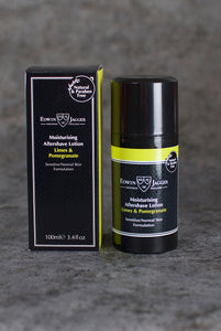 Edwin Jagger - Moisturizing Aftershave Lotion Limes & Pomegranate