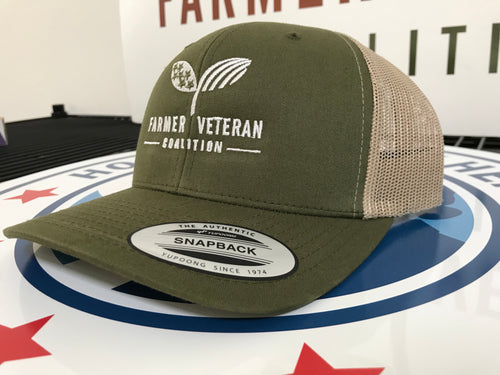 FVC Trucker Hat (Green/Khaki)