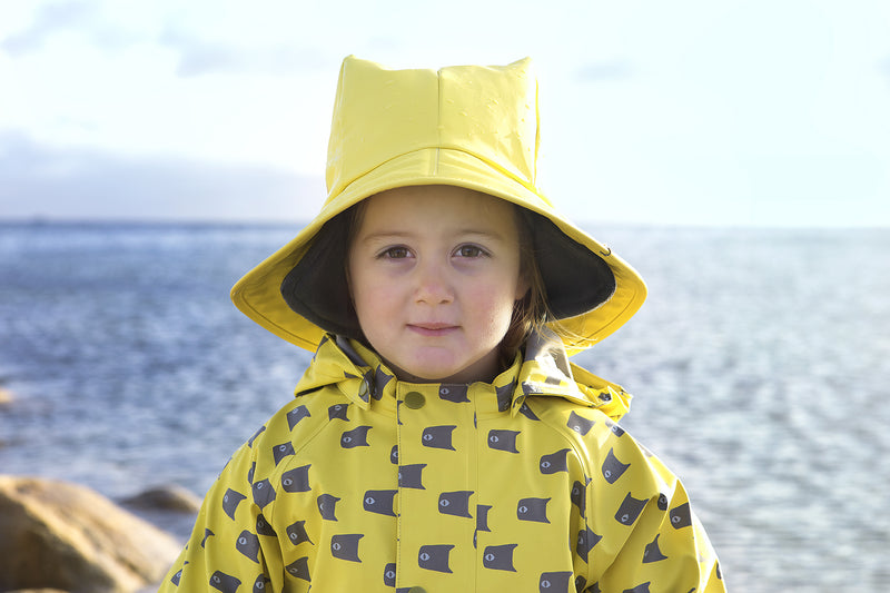 Fish Rain Suit, Blue
