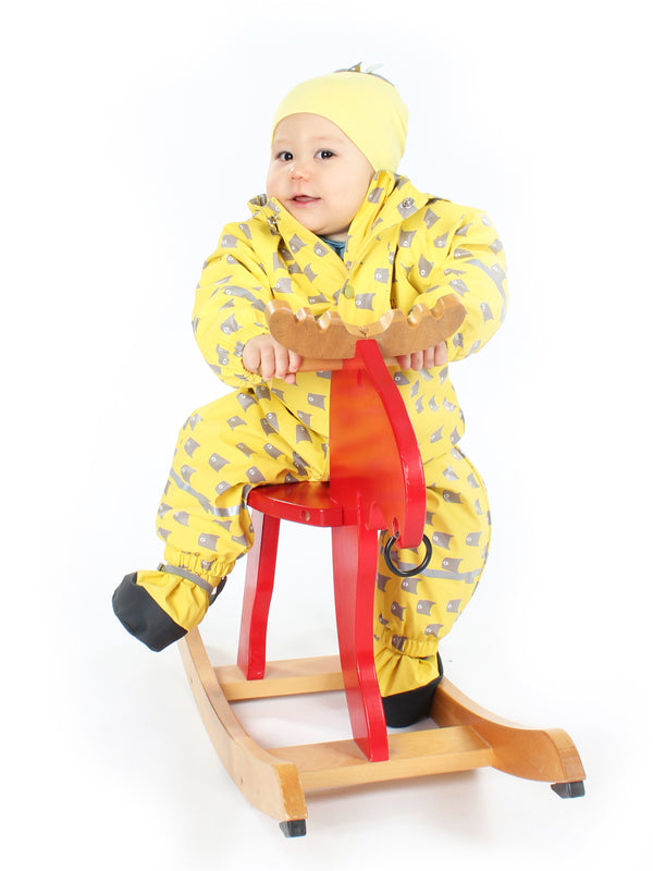 Fish Rain Suit, Yellow