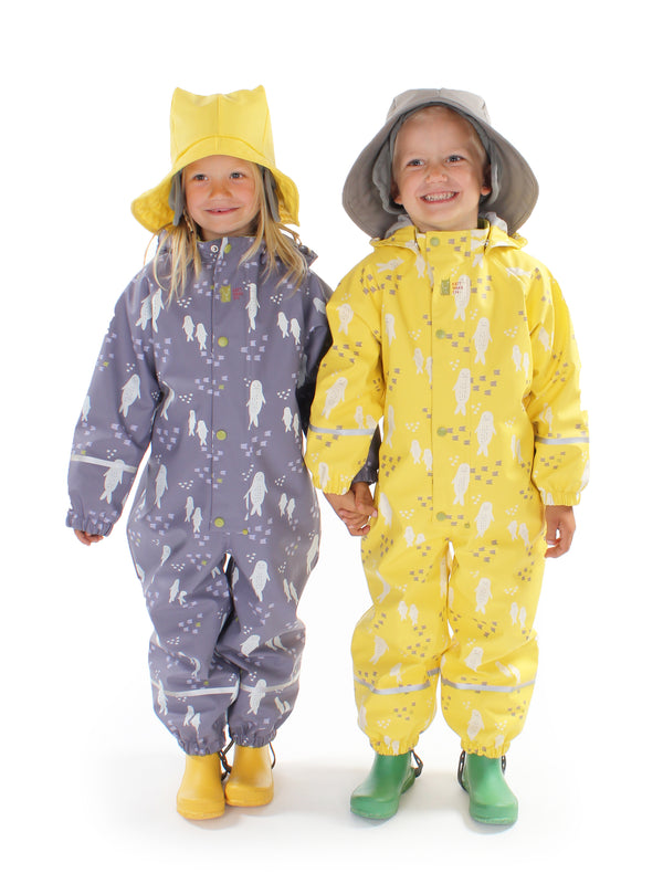 Ocean Winter Rain Suit