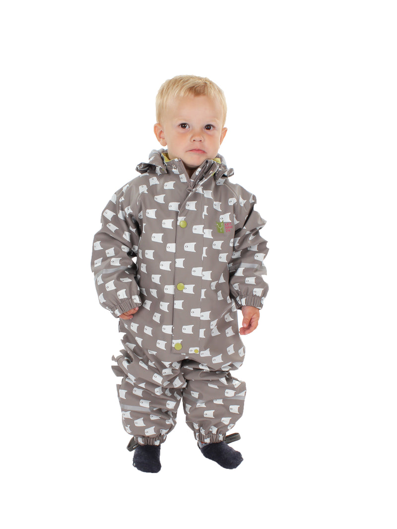Fish Rain Suit, Mole Brown