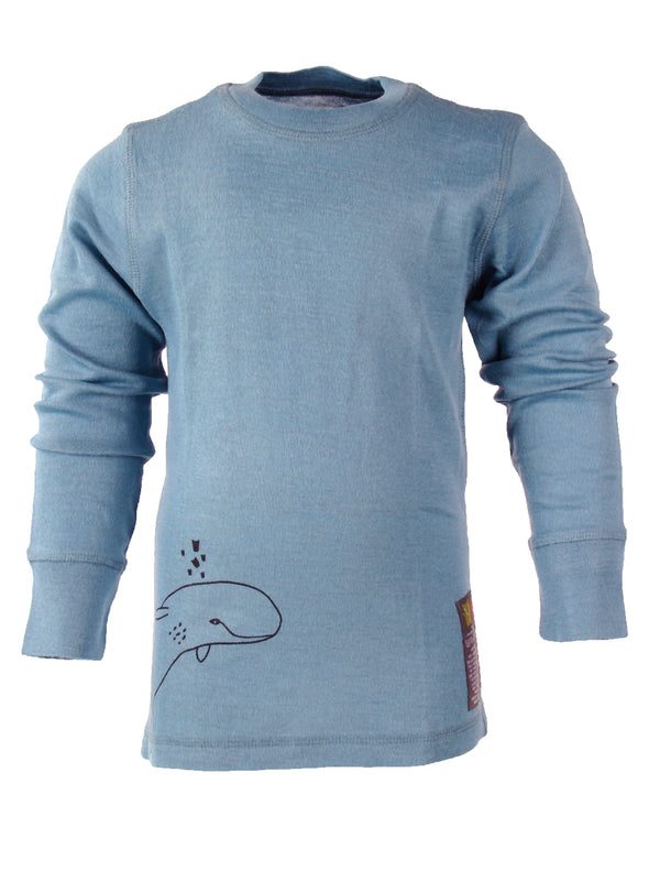 Ocean Merino Wool Base Layer, Long Sleeve