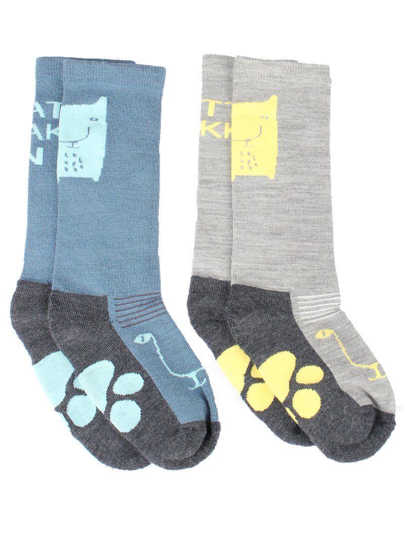 Adult Wool Socks 2-pack