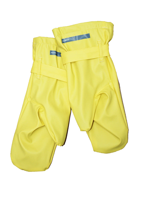 Adult Rain Mittens, Yellow
