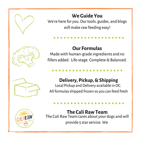 About Cali Raw Dog Food Delivery