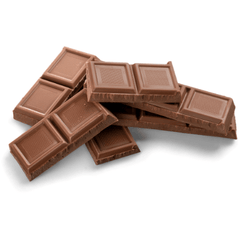 Image of brown chocolate that is dangerous to dogs