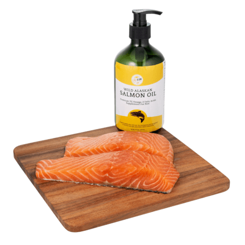 Salmon oil are healthy fats for dogs