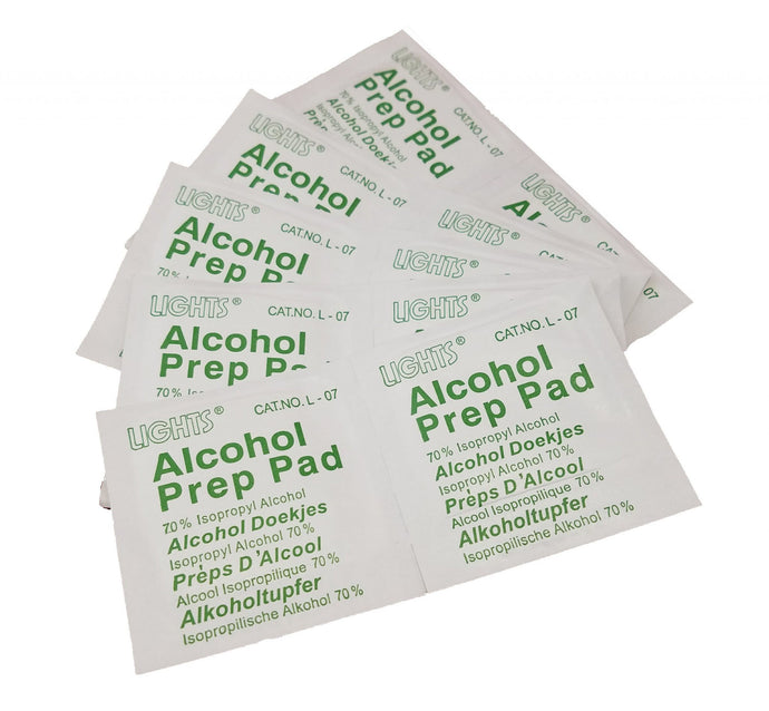 Alcohol Cleaning Wipes