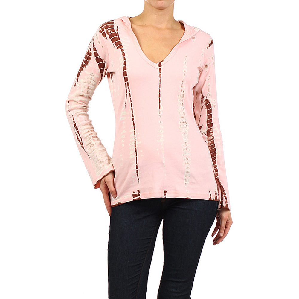Women's Tie Dye Pullover Hoodie Top #10440 - IDI Clothing - Where you can buy directly for the designer manufacturer-Made In USA :)