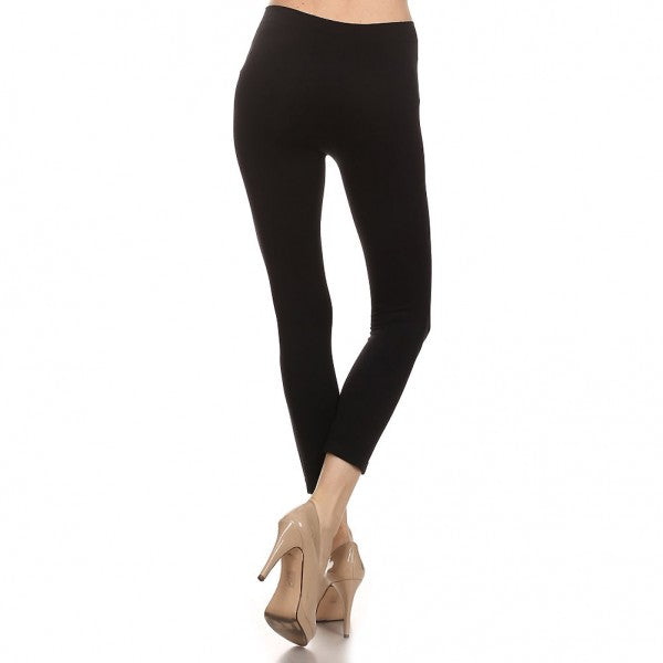 Women's Comfortable IDI Seamless Soft Leggings #11408 Black