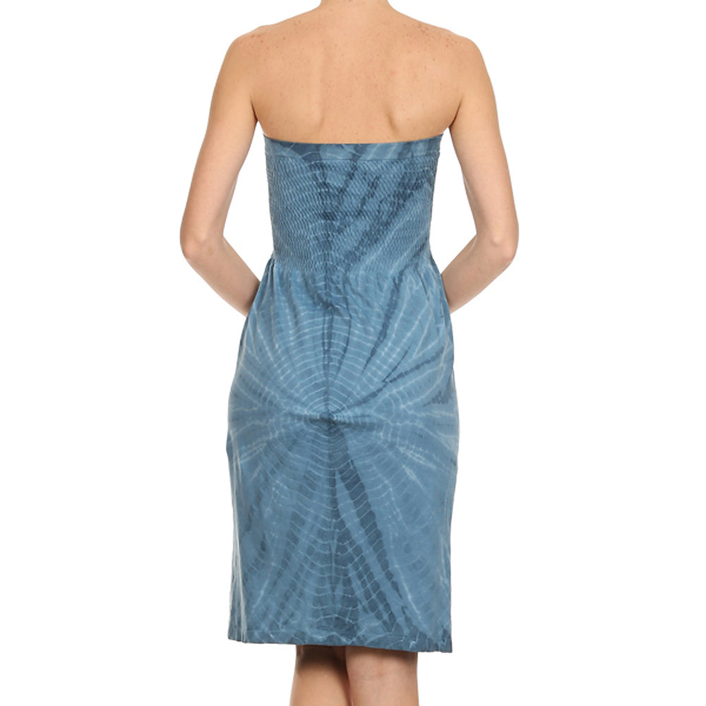 Women's Tie Dye Tube Dress #11409 - IDI Clothing - Where you can buy directly for the designer manufacturer-Made In USA :)