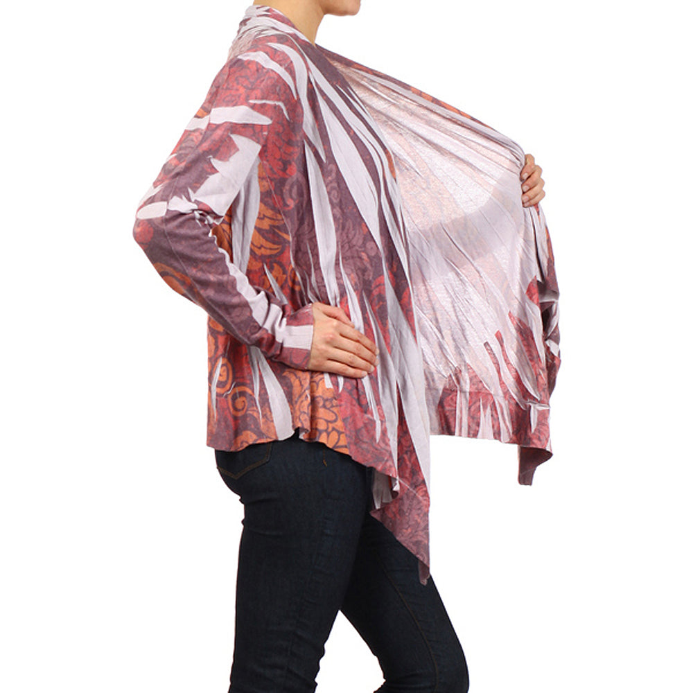 Women's Front Drape Cardigan #11511 - IDI Clothing - Where you can buy directly for the designer manufacturer-Made In USA :)