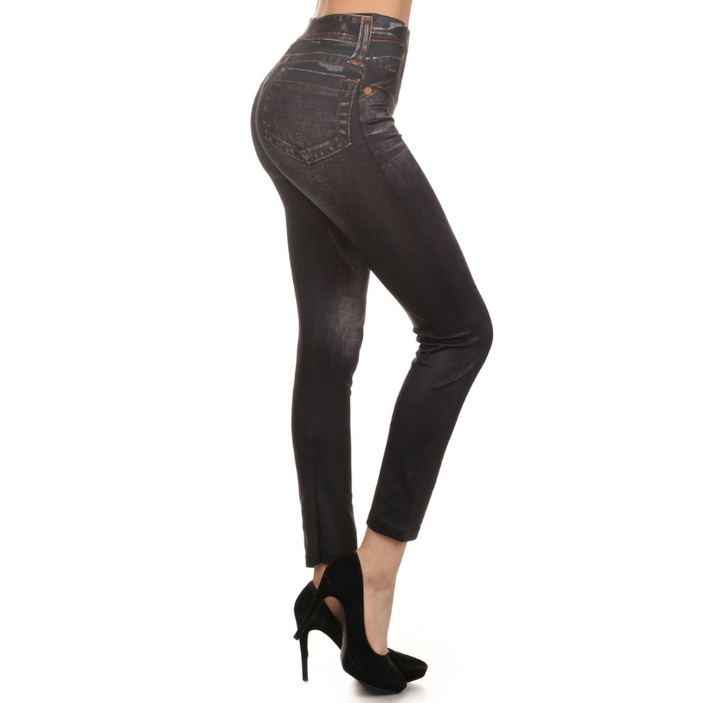 Women's Distress Look Leggings #11703 - IDI Clothing - Where you can buy directly for the designer manufacturer-Made In USA :)