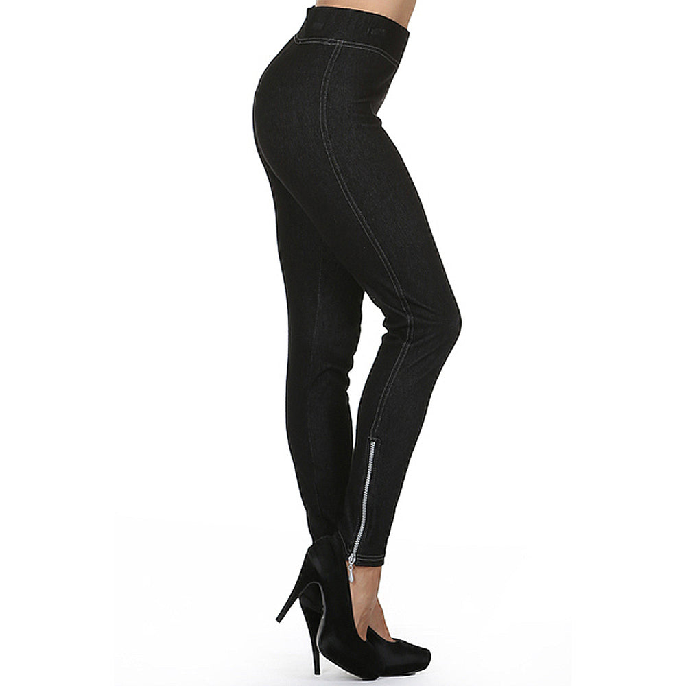 Women's Side Zip Leggings #11773 - IDI Clothing - Where you can buy directly for the designer manufacturer-Made In USA :)