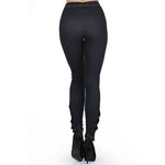 Ladies Side Button Leggings