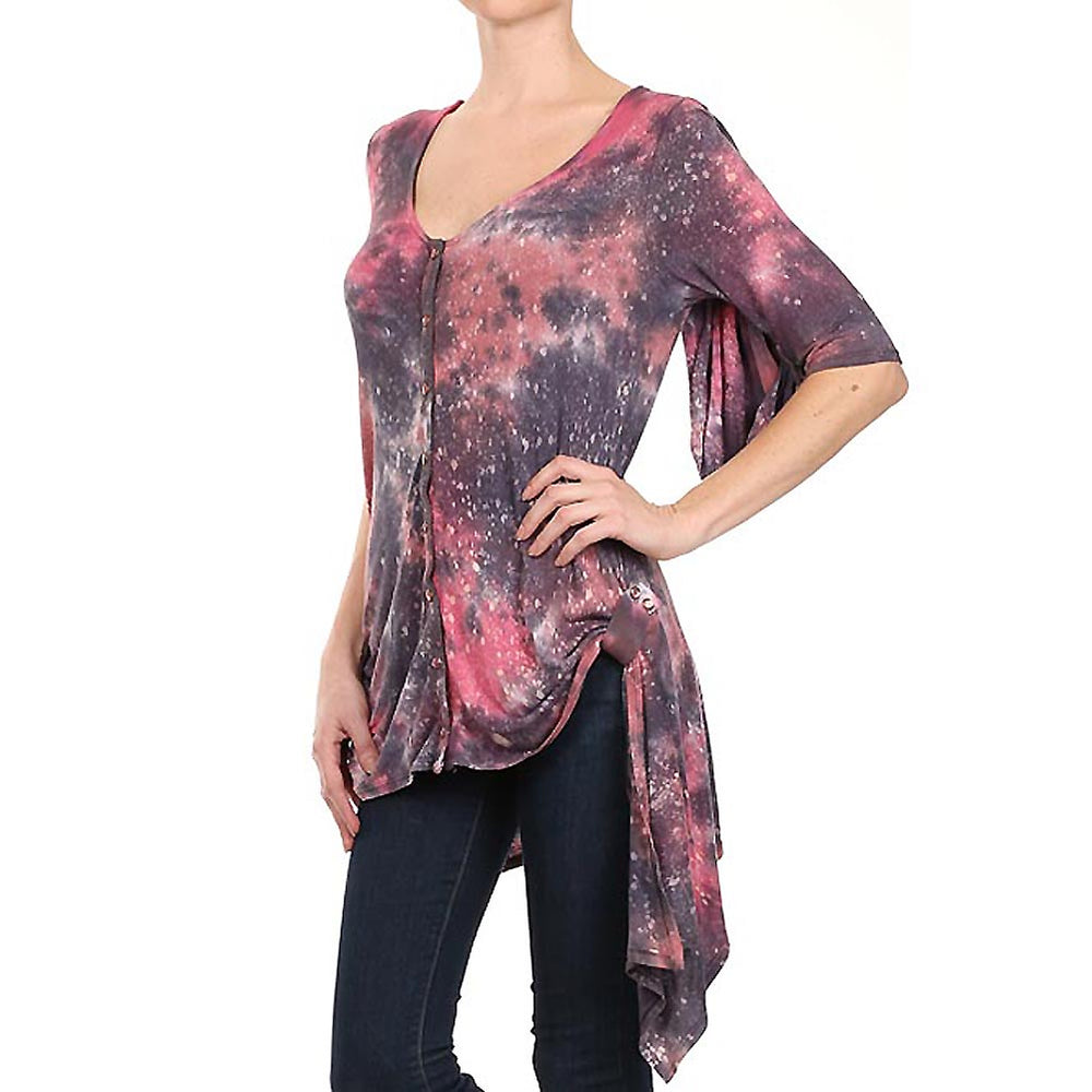 Women's Adjustable Drape Sleeve Duster Cardigan #11856 - IDI Clothing - Where you can buy directly for the designer manufacturer-Made In USA :)