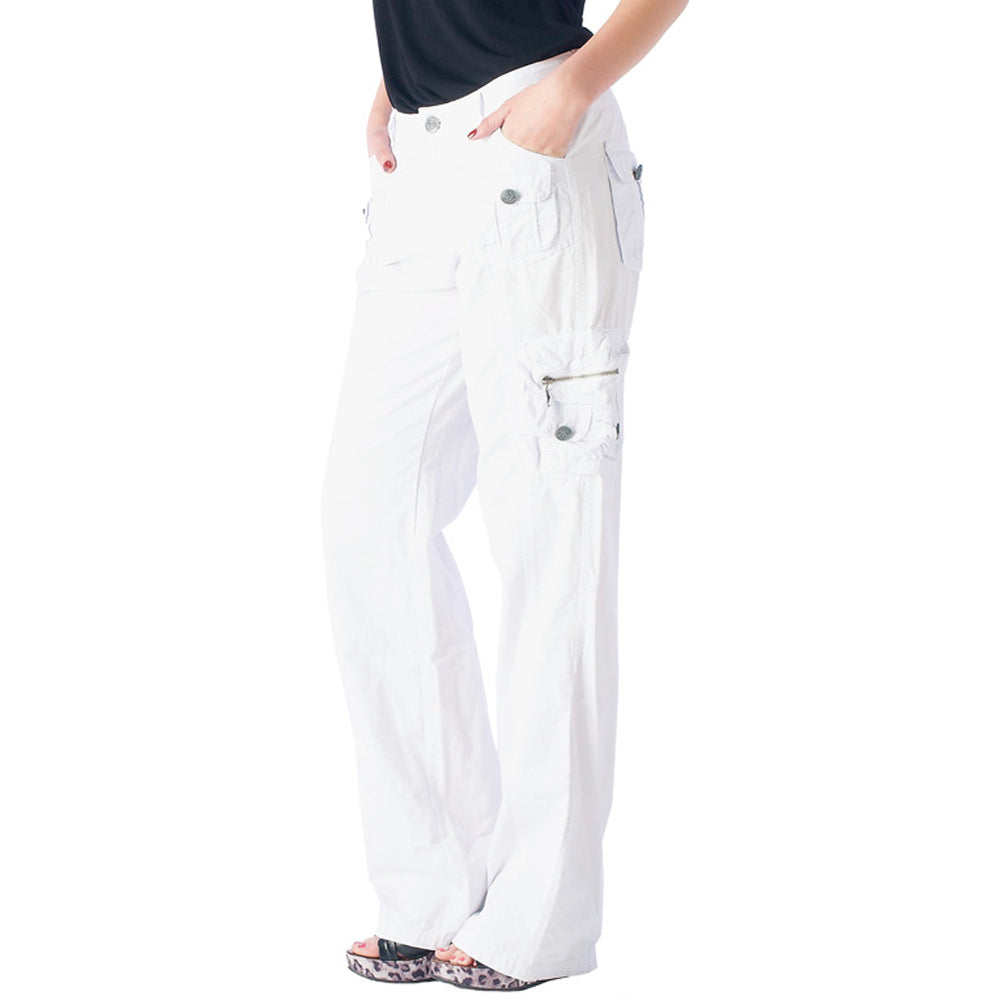 Women's IDI Cargo Pants #11888 Garment Dye In USA - IDI Clothing - Where you can buy directly for the designer manufacturer-Made In USA :)