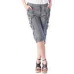 Women's Spring Cargo Shorts #12029 Garment Dye USA