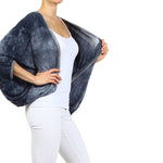 Women's Tie Dye Cropped Cardigan #12052 - IDI Clothing - Where you can buy directly for the designer manufacturer-Made In USA :)