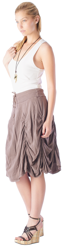 Fashion SkirtWomen's Parachute Skirt #12073 - IDI Clothing - Where you can buy directly for the designer manufacturer-Made In USA :)