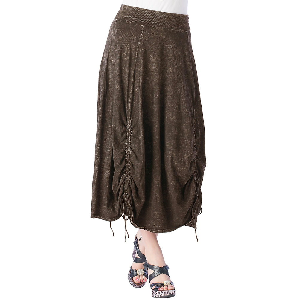 Women's Parachute Mineral Wash Skirt #12074
