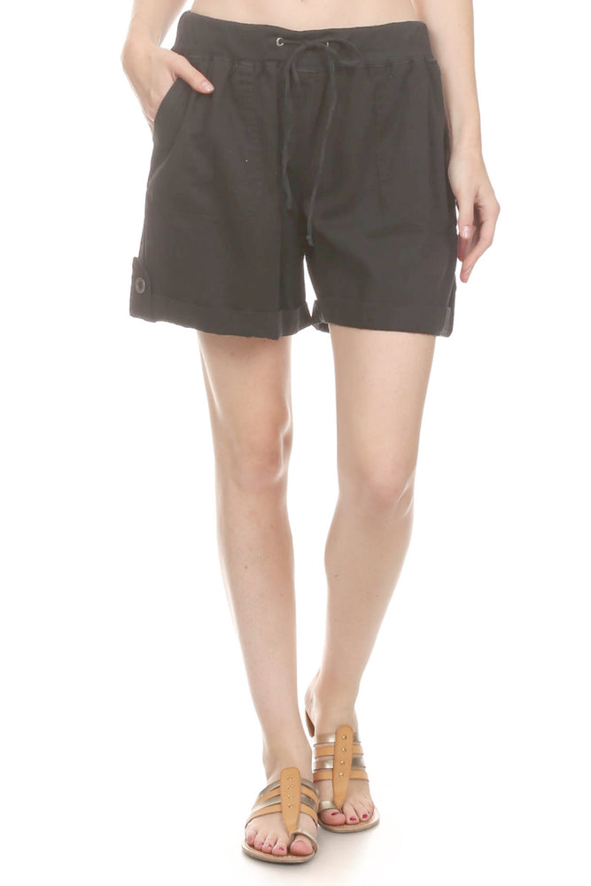 Women's Cargo Short  Garment Dye 100% Cotton #12075 Made In USA - IDI Clothing - Where you can buy directly for the designer manufacturer-Made In USA :)
