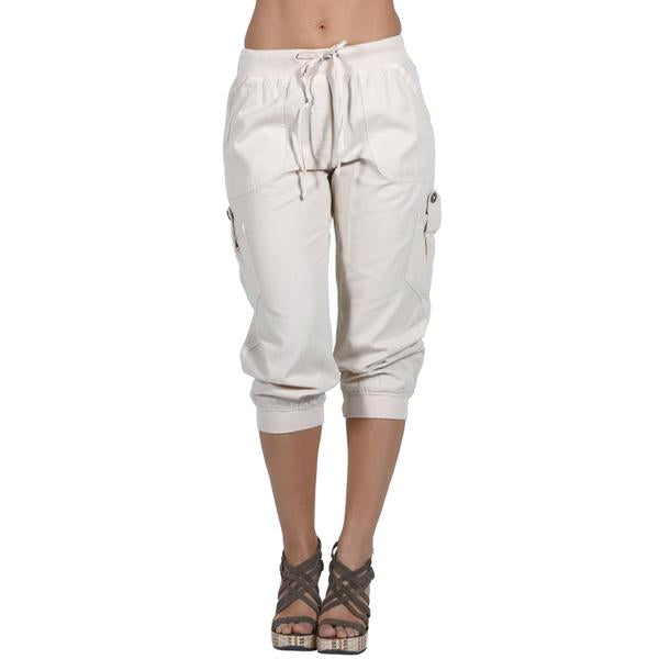 Women's IDI Cargo Capri Pant Soft #12082 - IDI Clothing - Where you can buy directly for the designer manufacturer-Made In USA :)