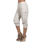 Women's Cargo capri  Garment Dye 100% Cotton #1202 Made In USA - IDI Clothing - Where you can buy directly for the designer manufacturer-Made In USA :)